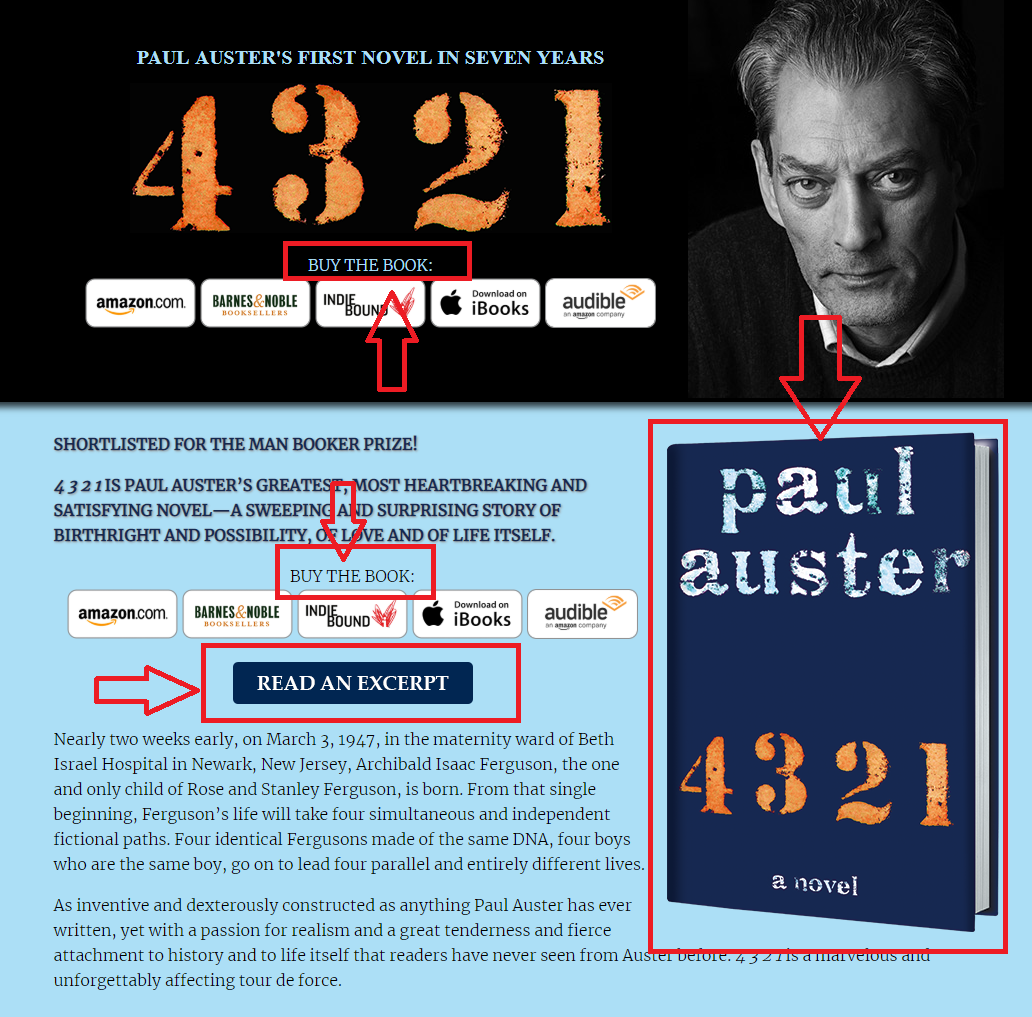 Paul Auster Header