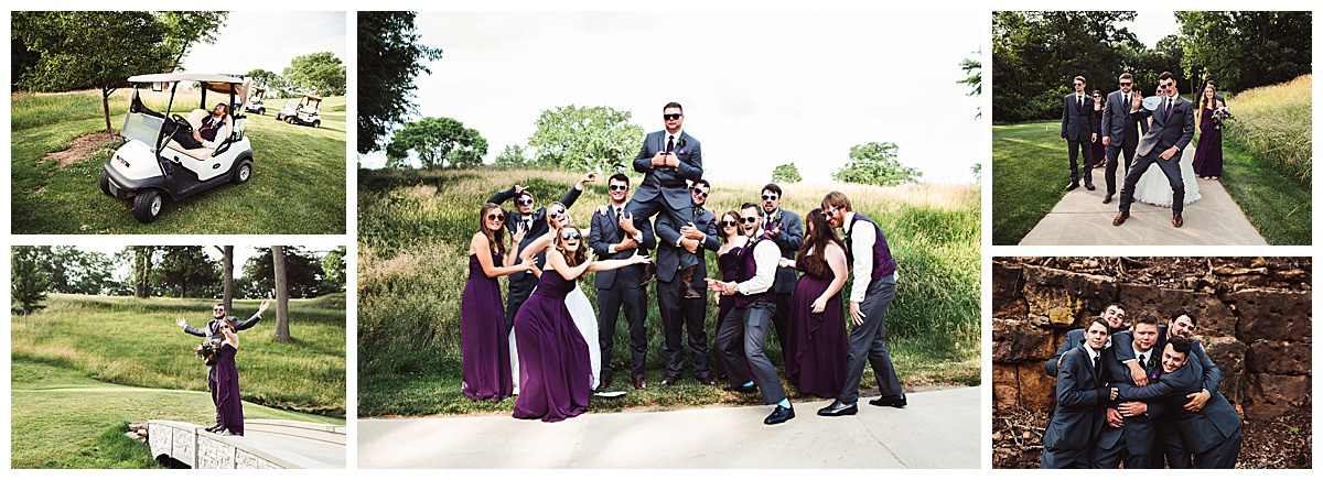 bridal party davenport Country Club