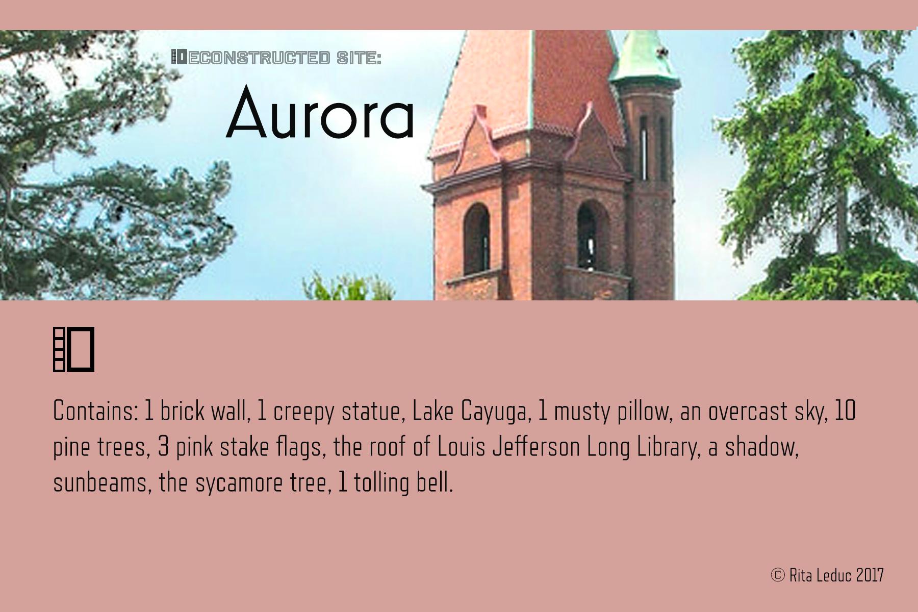 Aurora: Deconstructed Site