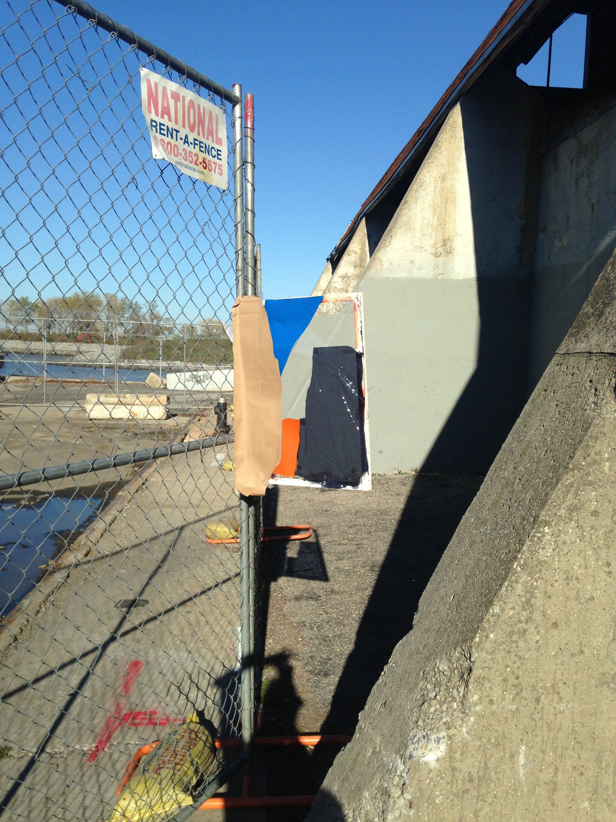11.04.15 52nd St. Brooklyn Waterfront (Fence)