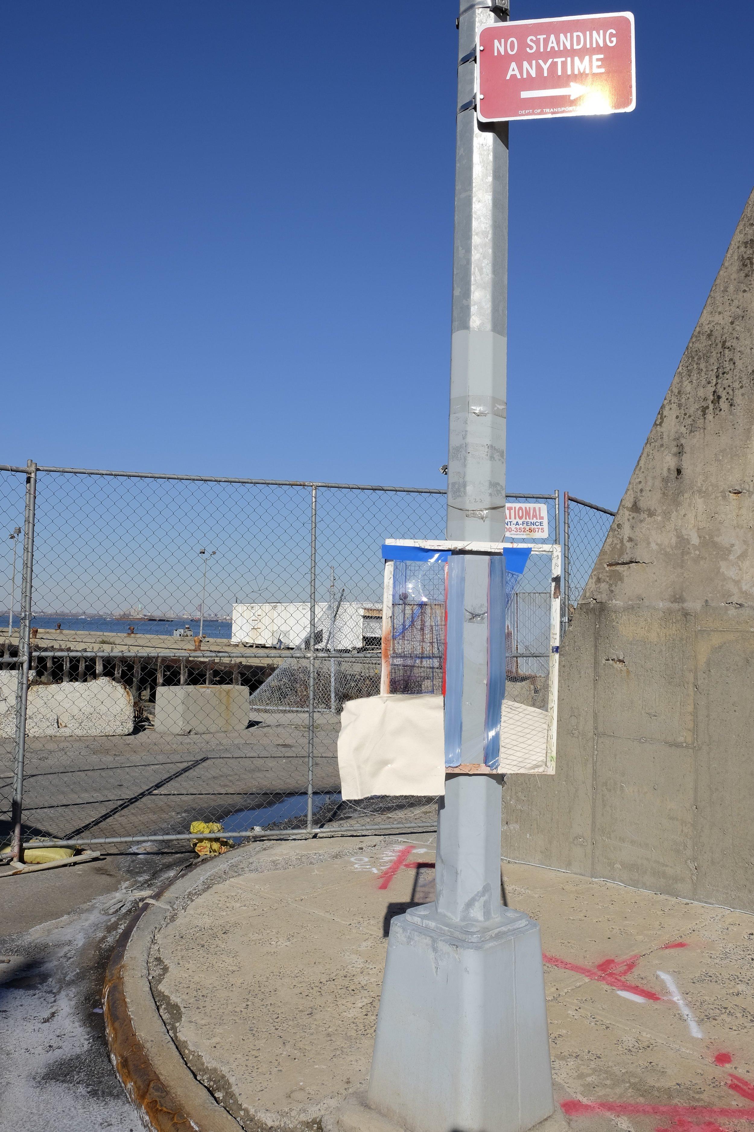 11.21.15 52nd St. Brooklyn Waterfront (Pole)