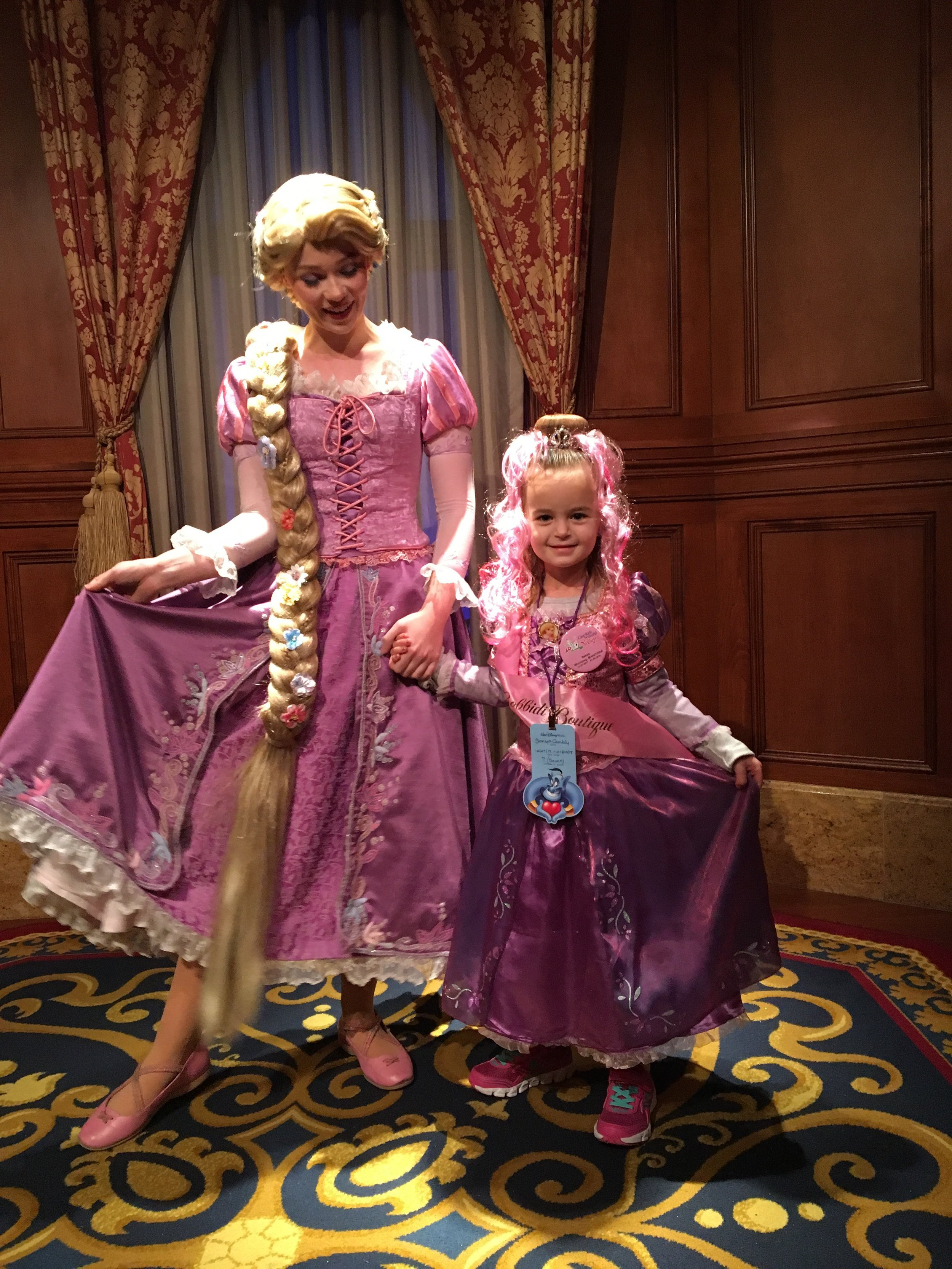Happily Ever After: - Dream Kid Sonya had a blast at the Bibbidy Bobbity Boutique with the princess makeover of a lifetime!