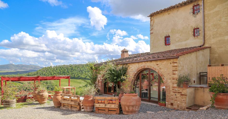 Italian Vineyard Vacation!