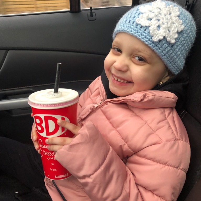 Pictured: Drea  is all smiles after a recent visit to the  BDI .