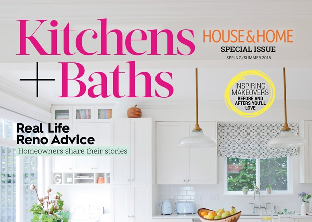 Graphic Design: Kitchens & Baths Issue