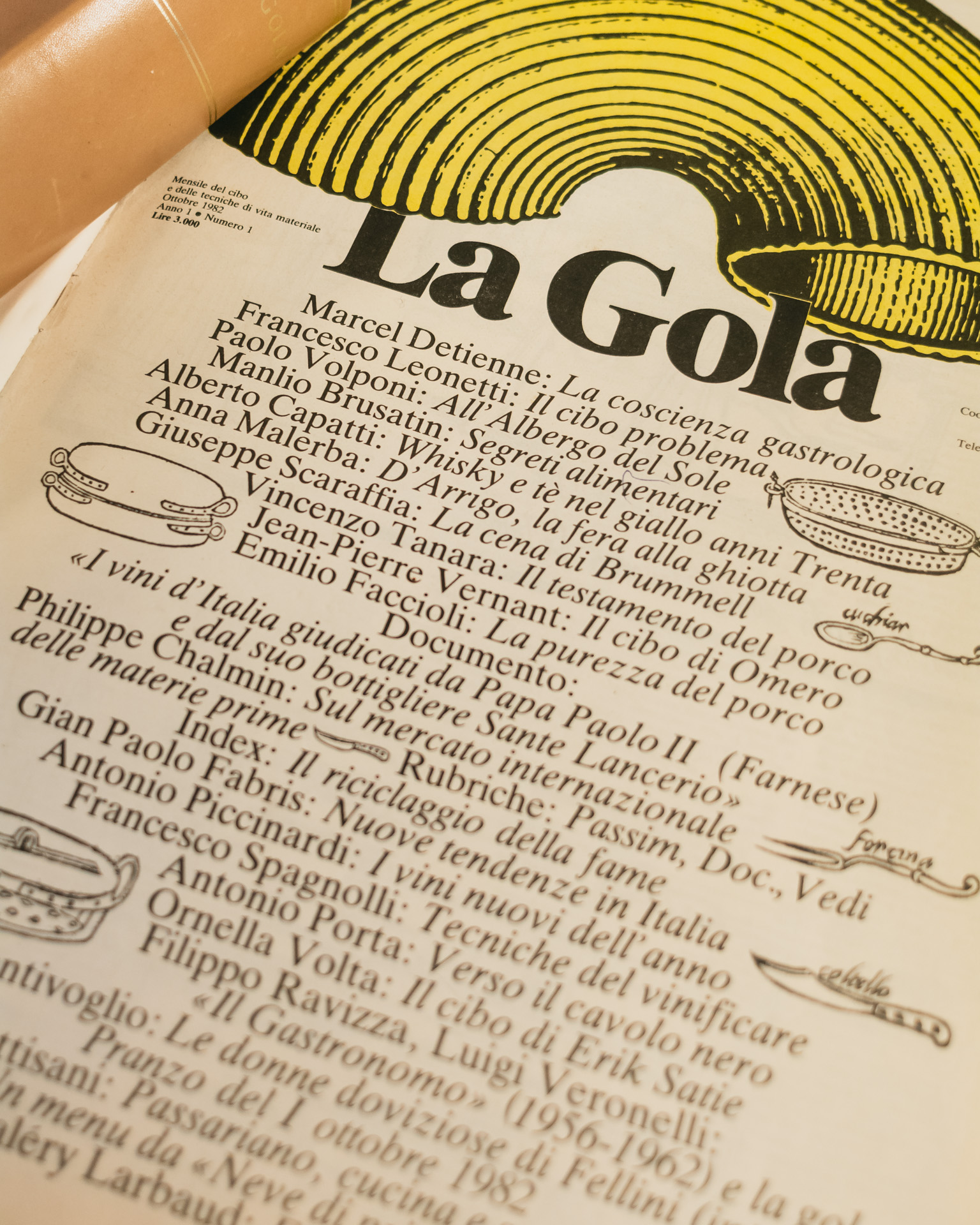 Prima edizione de La Gola