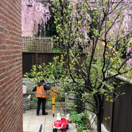 Excited to get a new project underway! Good survey information for this  #parkslope #brownstone will help us create a stylish, less-formal space for an energetic family!