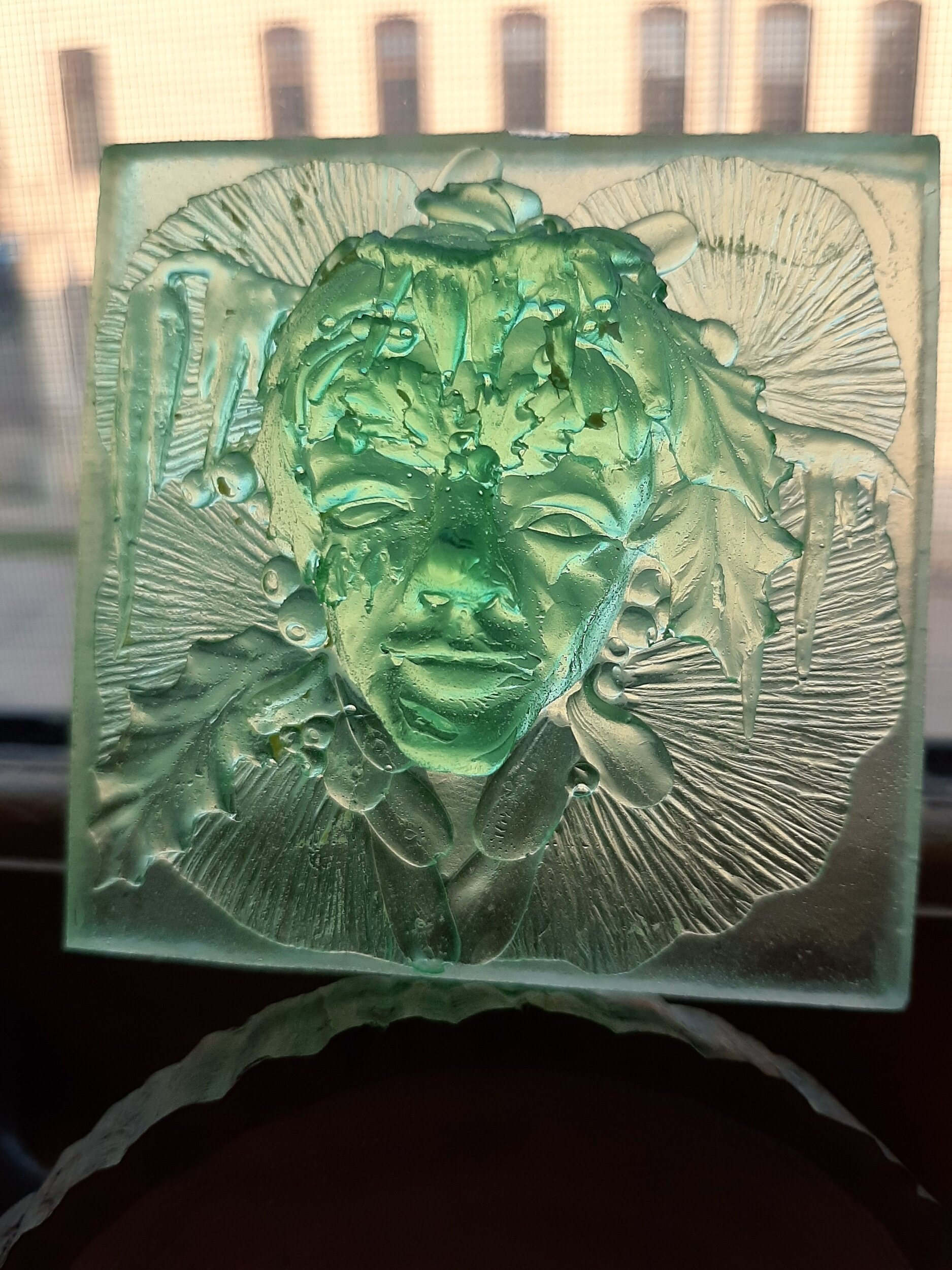 Jack Frost, small tile, translucent