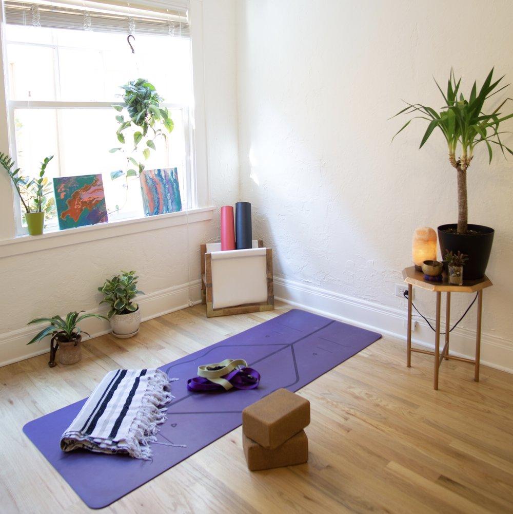 5 Steps To Creating A Home Yoga Space — Jessica Richburg