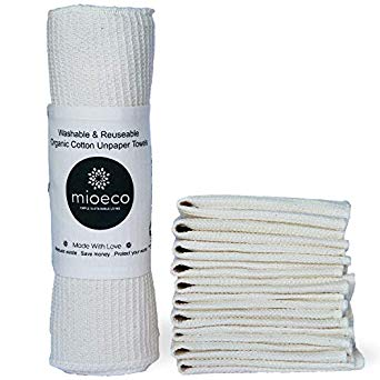 WASHABLE & REUSABLE PAPER TOWELS