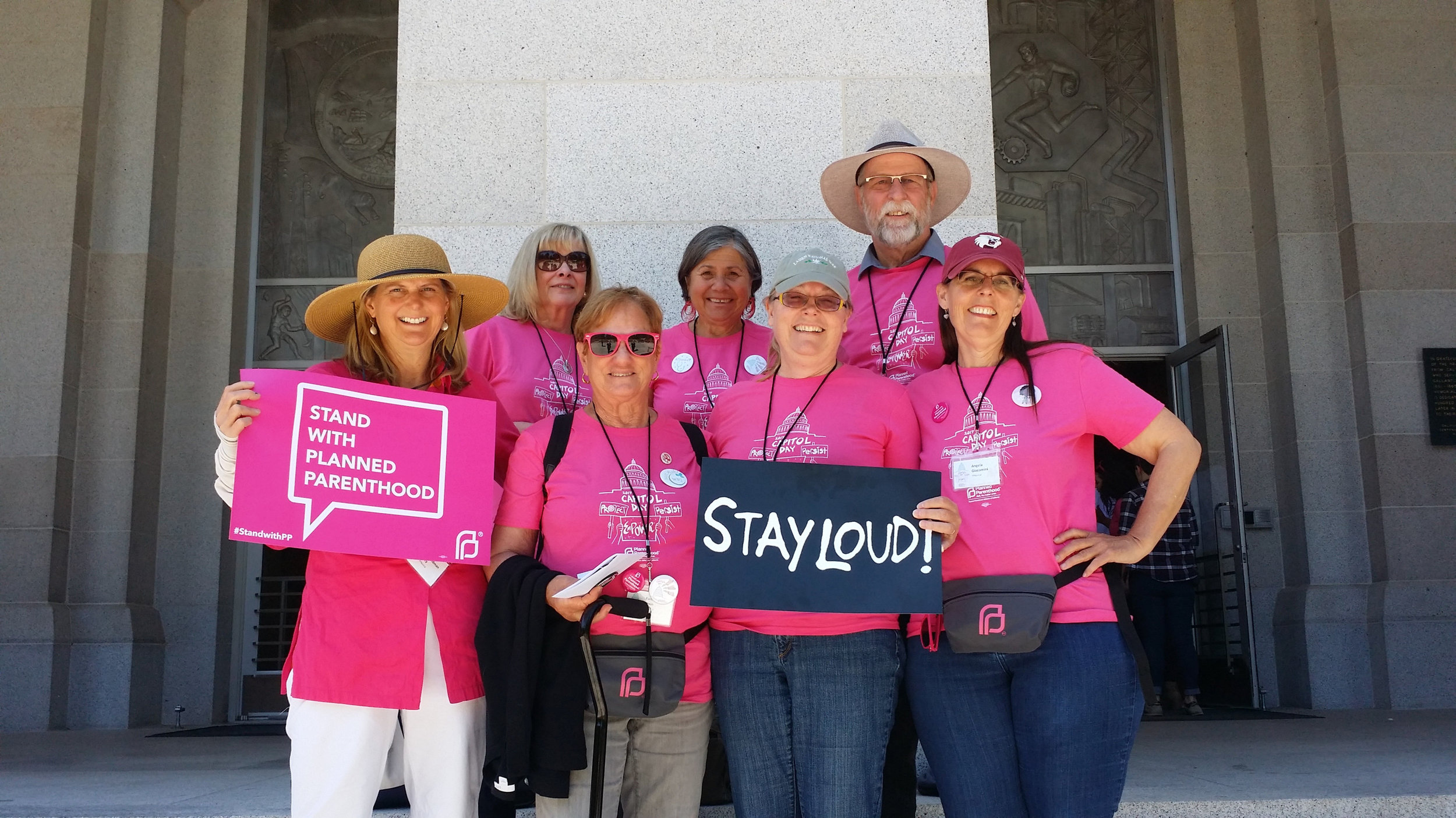 Lobbying with Planned Parenthood in Sacramento