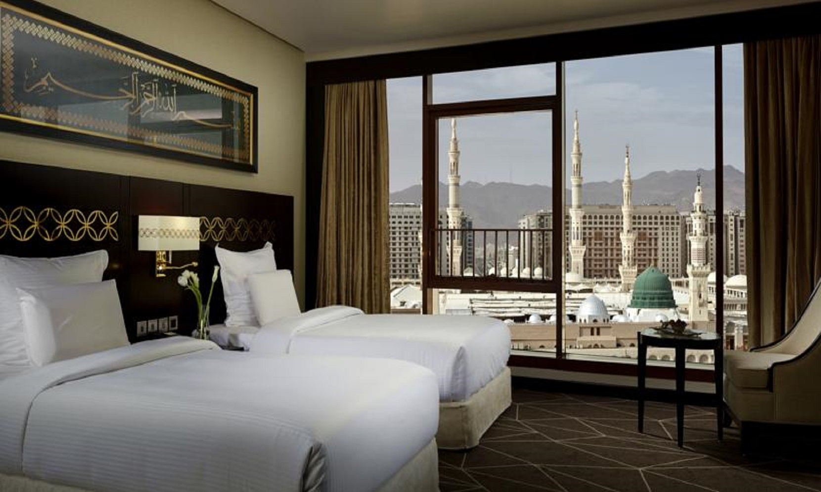 5* Hotels with Breakfast - Makkah 5 Nights: Swissotel Hotel (mere steps away from the Haram, next to the famous Clock Tower)Madinah 4 Nights: Pullman ZamZam (steps away from Bab al Salaam)