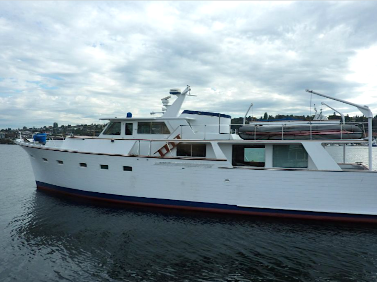 Active - 1967 Vic Franck 65 Pilothouse$309,500Click for more photos and specifications