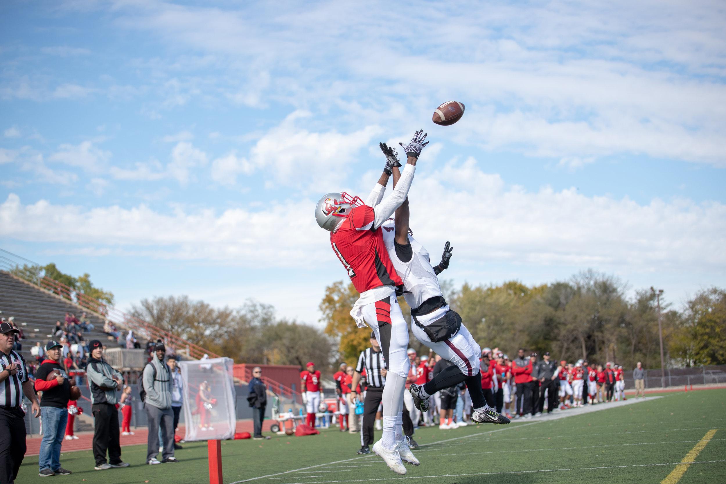 Friends University won their game against Bethel College on Nov. 3, 2018 in Wichita, KS.