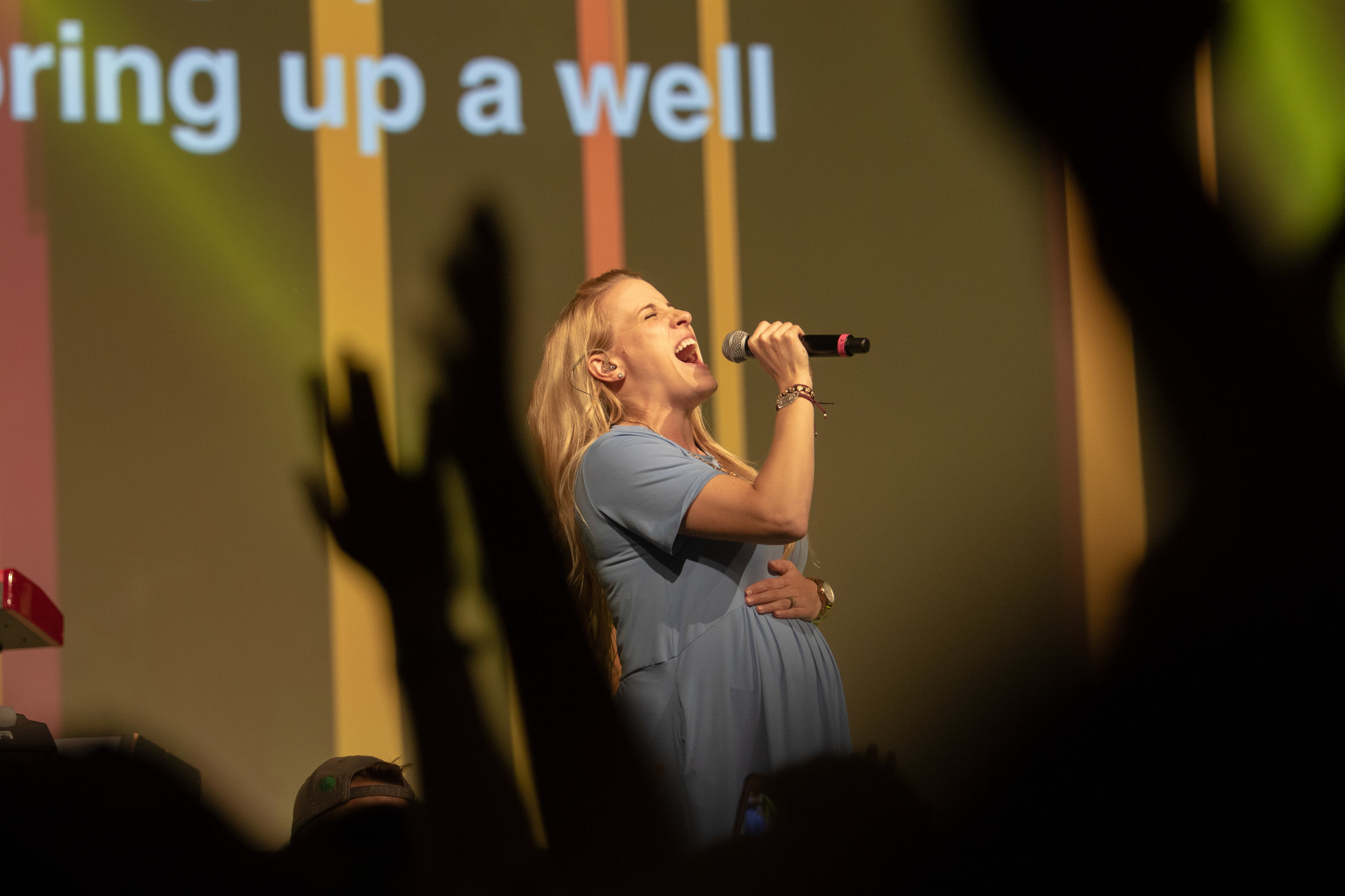 Emily Wilson performs at Steubenville Lone Star on June 23, 2018 at the Irving Convention Center.