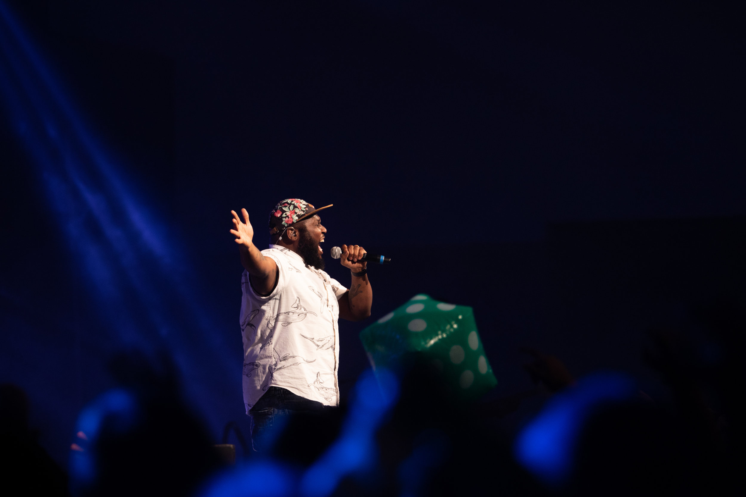 Ike Ndolo performs at Steubenville Lone Star on June 22, 2018 at the Irving Convention Center.