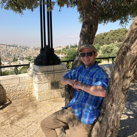 """- """"I originally went on Birthright for the free trip but it became so much more. I gained memories and friends that will last a lifetime and I learned about who I am and who I want to become.""""- Colby Weintraub, '21"""