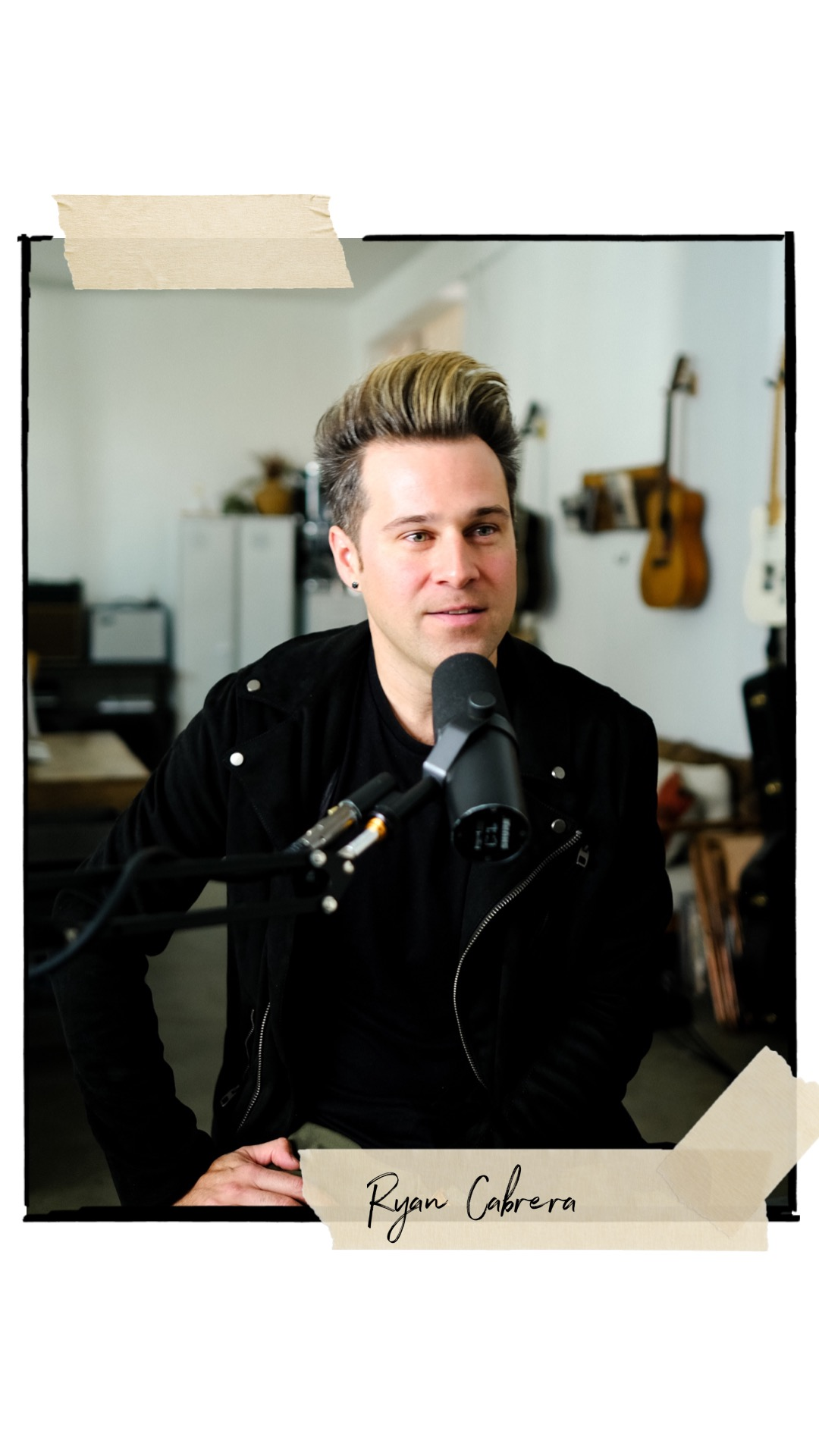 Ryan Cabrera  ( Singer/Songwriter)