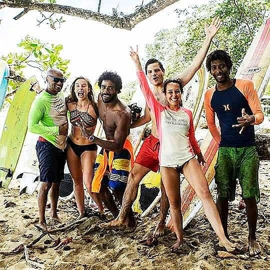 JONA Surfcamps.  JUST HAVE A GREAT TIME. Our professional surf instructors gonna help to catch at first day a wave. . . . . . #jonasurfcamp #caribbean #surfcamp #surf #goodvibes #beachvibe #puravida #costarica #costaricasurfing #oceanparty #caribbeanfeeling