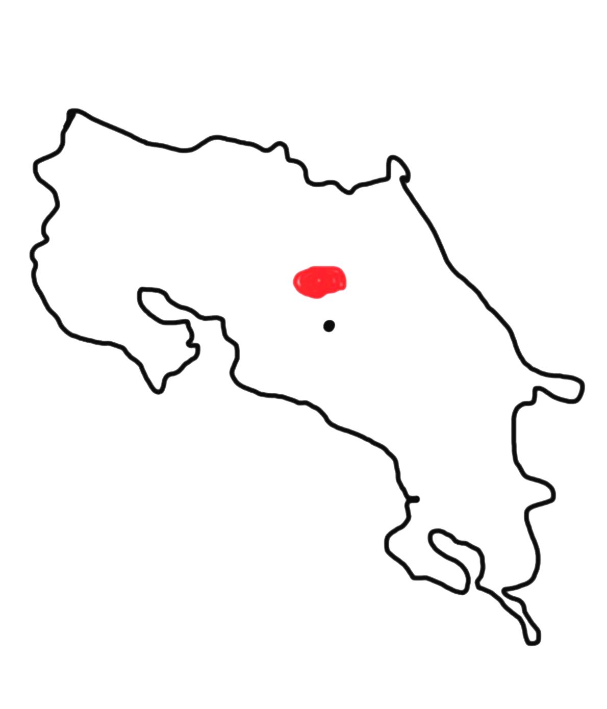 Central Valley - close to Alajuela (San Jose)