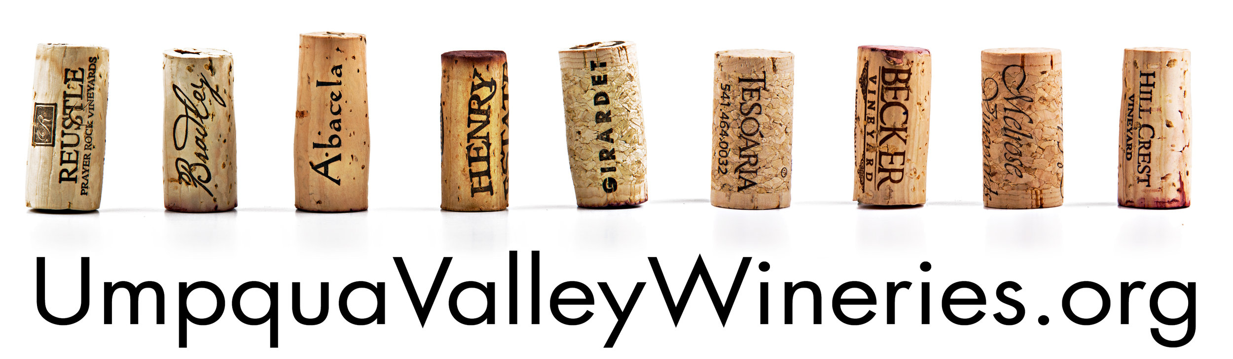Billboard for Umpqua Valley Wine Association.