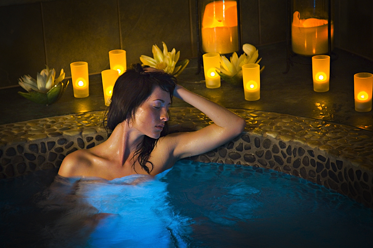 Marketing image for River Rock Spa at Seven Feathers Casino Resort.