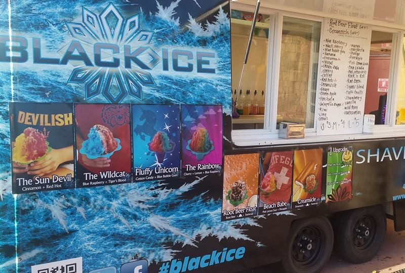 BlackIce Premium Hawaiian Shaved Ice