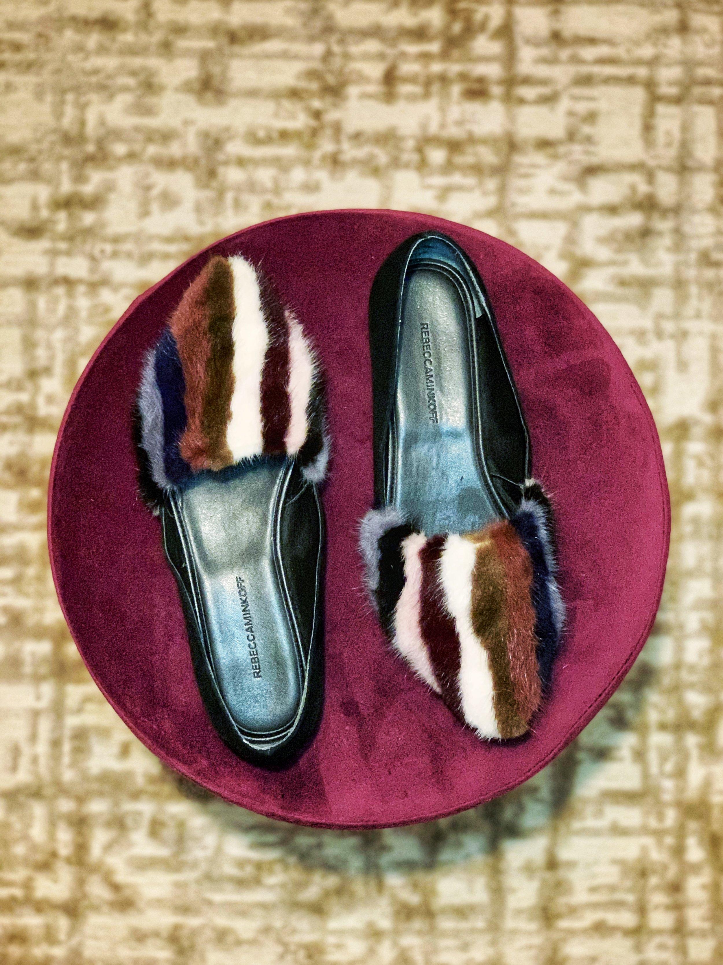Shoes: Rebecca Minkoff on    eBay    and    Amazon