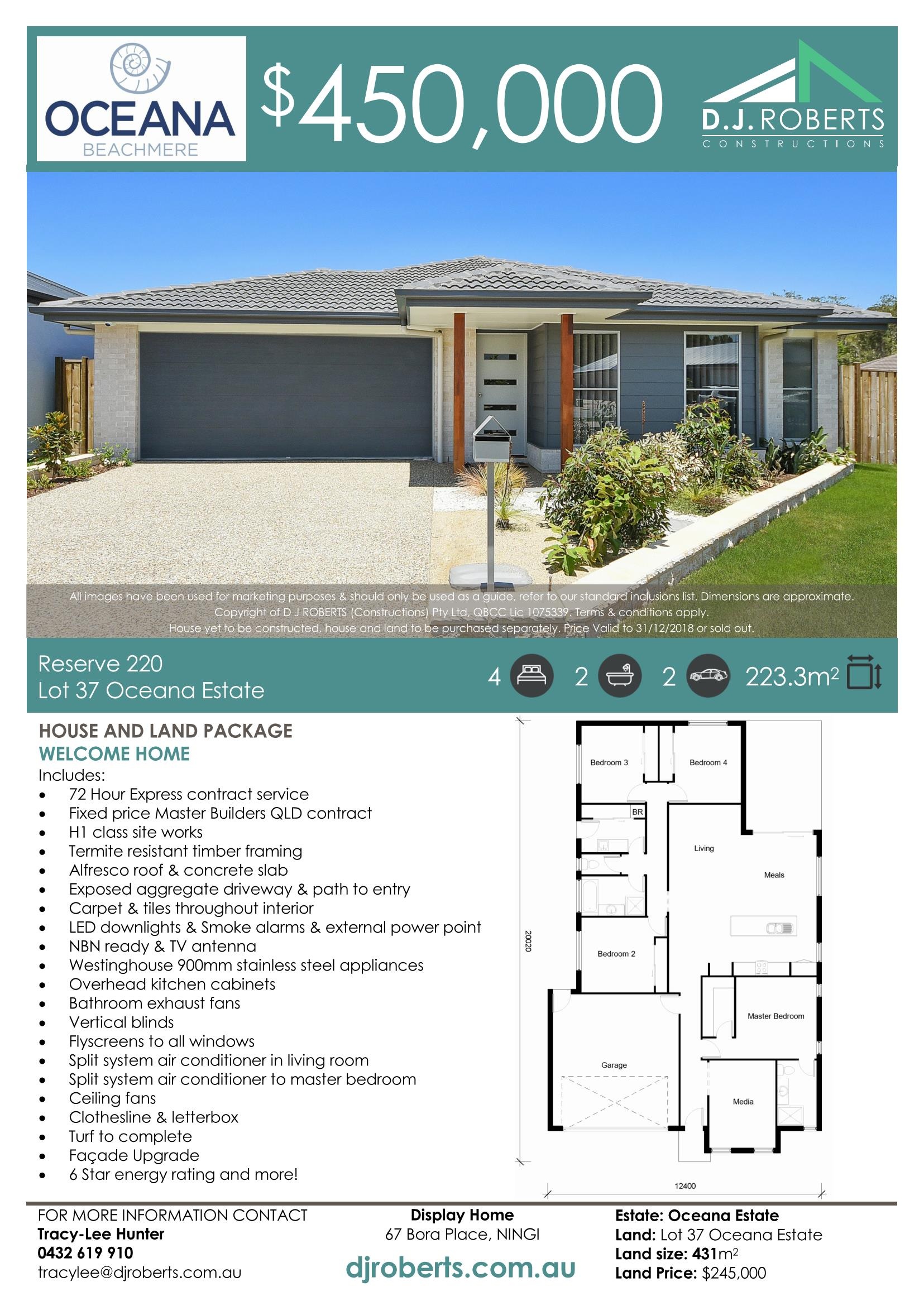 House and Land Packages — Oceana Beachmere