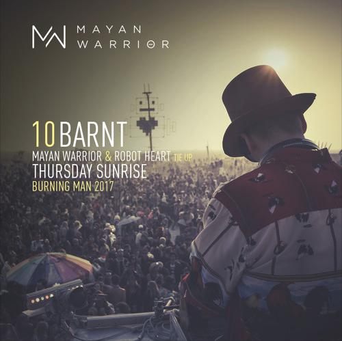 BARNT - MAYAN WARRIOR X ROBOT HEART TIE-UP