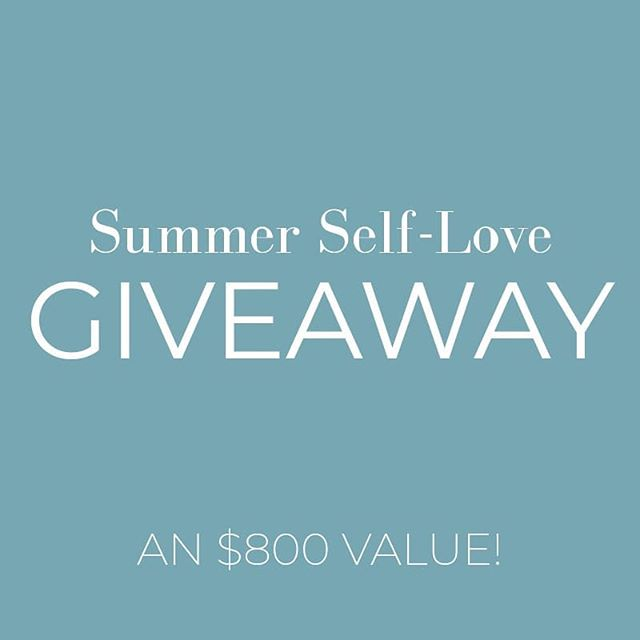 SUMMER SELF-LOVE GIVEAWAY! ☀️🥰 . Who's ready to show themselves some serious self-love and appreciation this summer?! We've teamed up with a few local businesses to give YOU the chance to win a bunch of great stuff! 😊👇 . @revitalmedspa - DermalInfusion Treatment @emilyroggenburk - #GlowyAF T-shirt & $50 Gift Card @lovloxsalon - Blowout with Tiffani @saraanndavis - 5 Class Bootcamp Package @thesiskiss - Signature Name Necklace @mkleinmanartistry - Summer Makeover . ALL YOU HAVE TO DO TO ENTER IS: 1. Follow all of the accounts listed above  2. Like this photo  3. Tag 3 friends who would love to enter this giveaway in the comments 4. For an extra entry, share this post in your story and tag us! . You have until Friday, July 19th at 11:59 PM to enter! . The winner will be randomly selected and announced in our stories on July 22nd! Good luck! 🤩🤞🏼🤞🏼