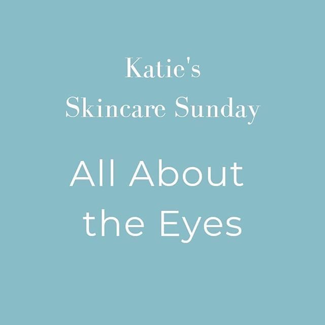 #SkincareSunday with Katie @katiepskincare! 🧖‍♀️👉🏼 . SWIPE to watch Katie tell you all about the EYES 👀 and how you should treat them just a litttttle bit differently than the rest of the skin on your gorgeous face 🥰
