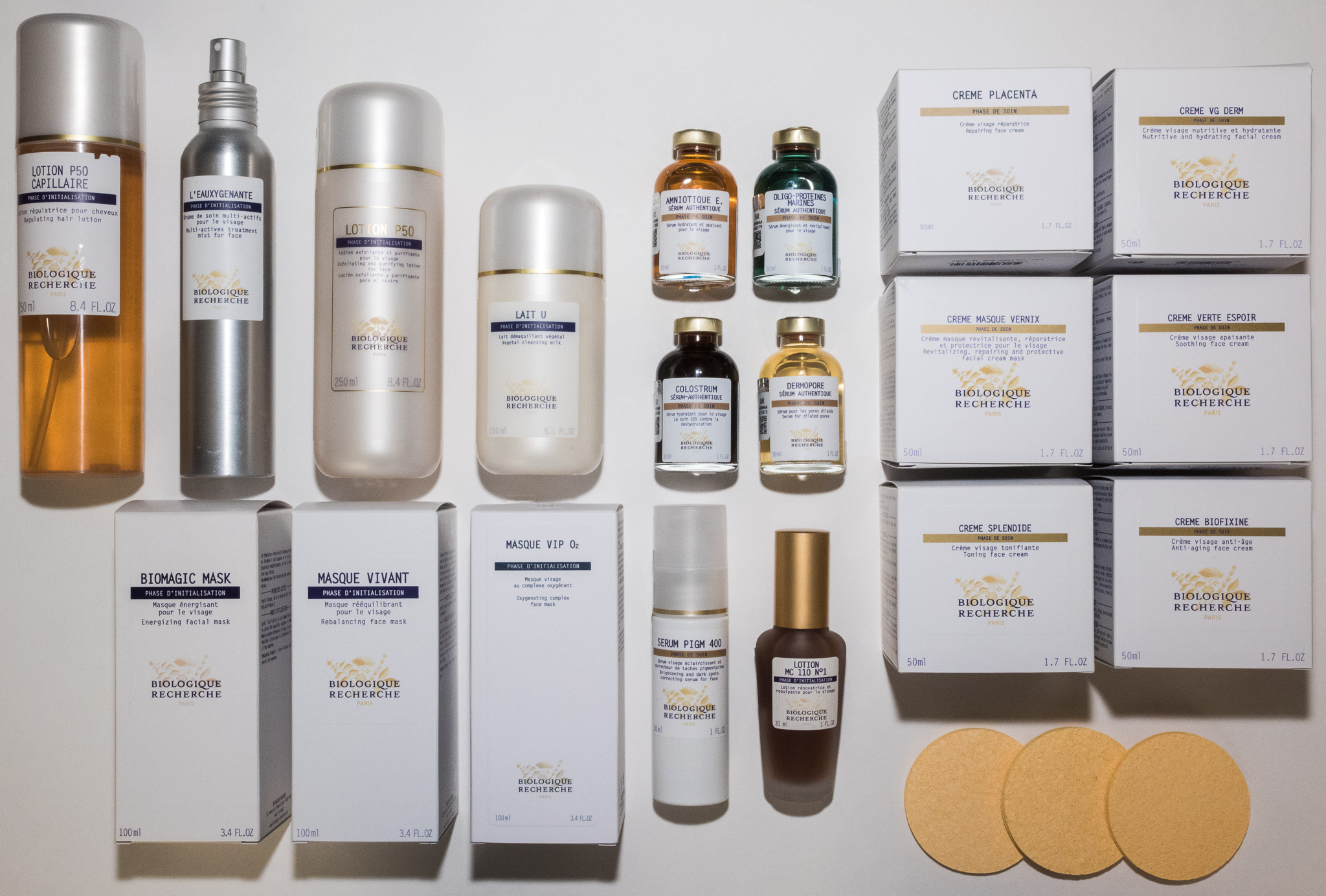 Proudly offering Biologique Recherche products and treatments -
