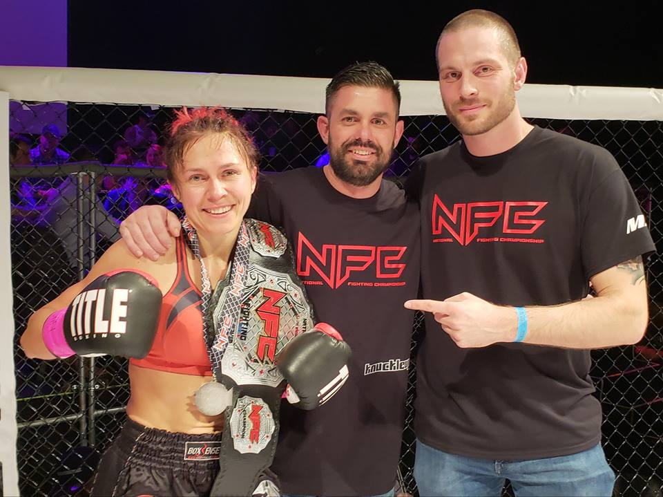 """The concept is simple - for NFC Charity Fight Night. We're taking the average NFC fight fan that has supported the NFC fights in Georgia for years and is a member of one of our supporting gyms here in Georgia. We're giving them months to train to cross off their bucket list """"getting in the NFC cage for my first state sanctioned fight!""""And we're doing it all while having it benefit the charity of their choice!Each fighter will choose their own charity to raise money for. Each ticket or table that is sold in their name will earn 30% commission to their charity. The NFC will write a check and the fighter will deliver it to their charity.Additionally, the winner of each fight will earn a $100 bonus check for their charity. Plus $100 bonus for the Knockout of the Night. Plus $100 bonus to both fighters engaged in the Fight of the Night.The fighters will be fighting for money for their charity both INSIDE and OUTSIDE the cage!"""