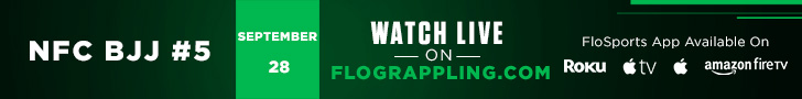 NFC BJJ #5 WILL BE LIVE ON FLOGRAPPLING.COM! CLICK THE BANNER ABOVE WATCH THE FIGHTS LIVE!