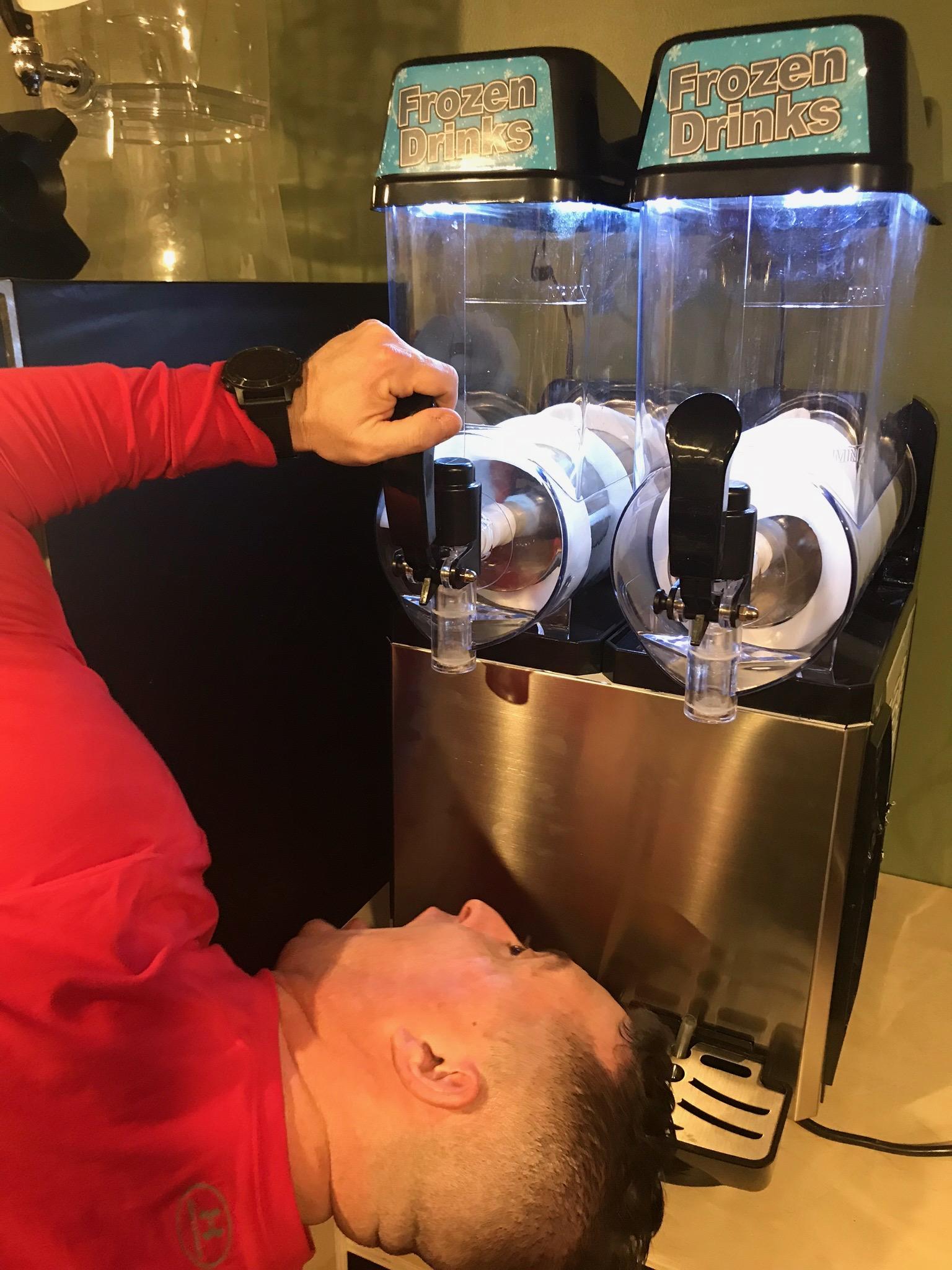 Testing Twisted Slushy Machine