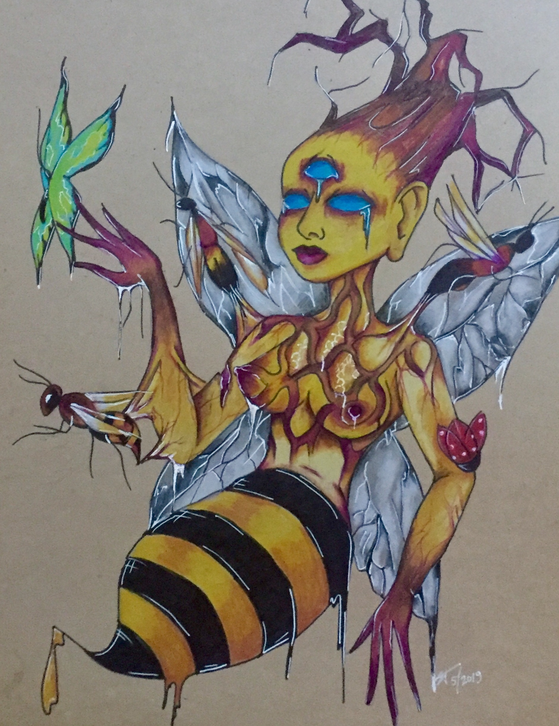 Bhramari, the insect goddess,2019