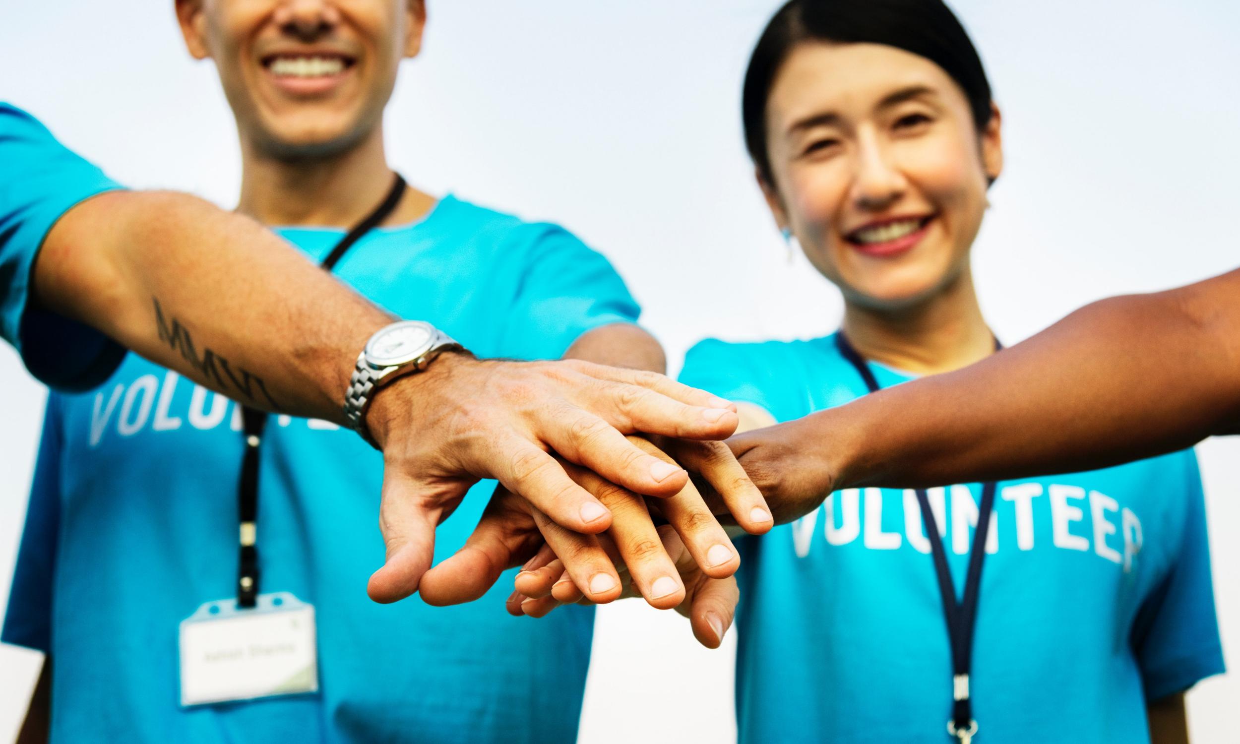 become a volunteer -