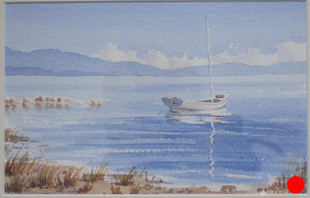 Haven View  (2011). 260 mm x 310 mm. Watercolour on Paper.