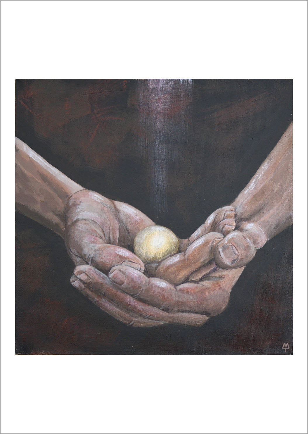 """29. I Know You - Triptych I  """"Before I formed you in the womb I knew you, before you were born I set you apart; I appointed you as a prophet to the nations.""""  Jeremiah 1:5 New International Version (NIV)"""