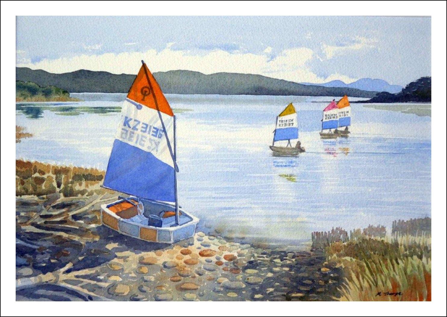 21. Parapara sailing - Golden Bay