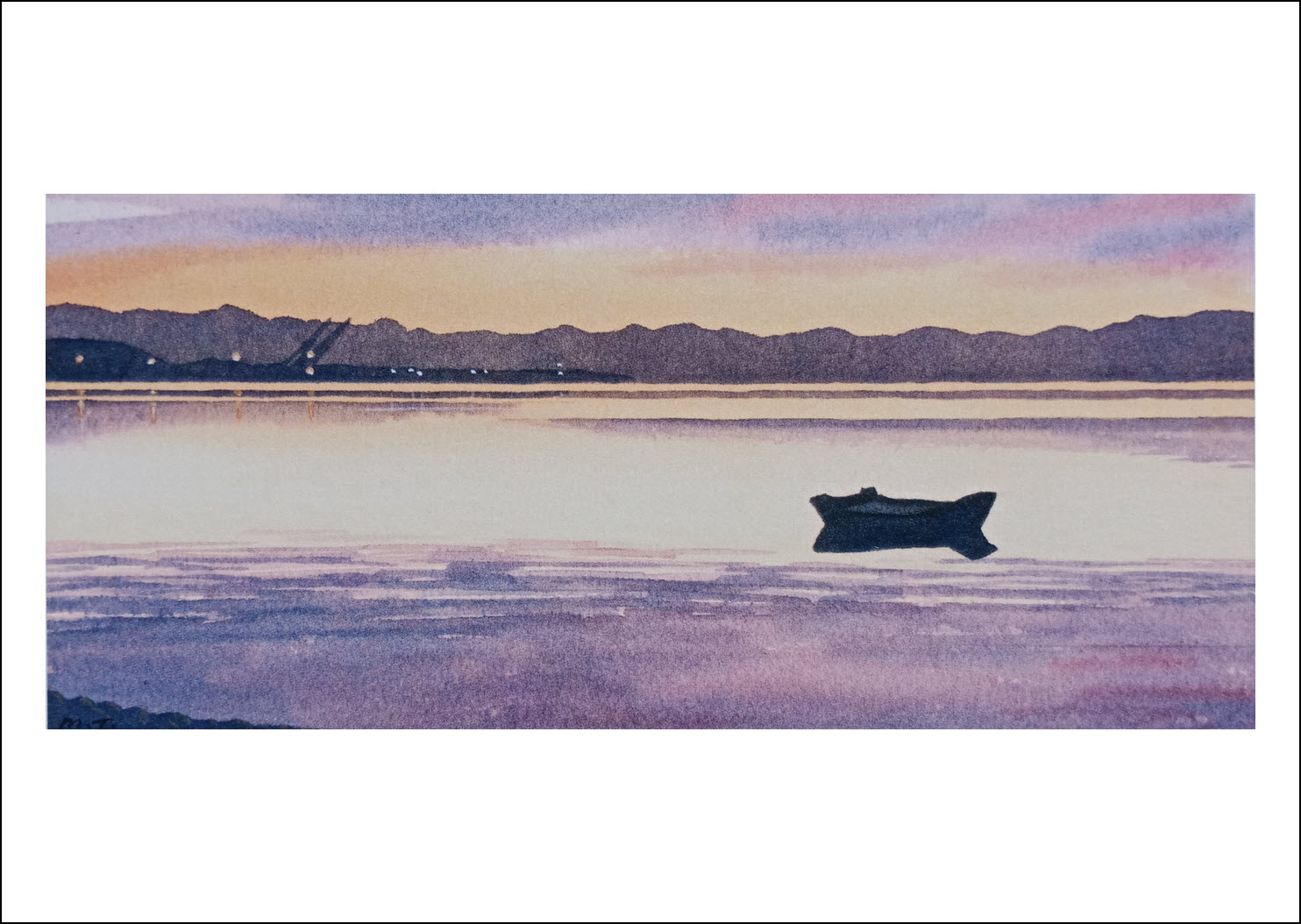 23. Port Nelson Sunset