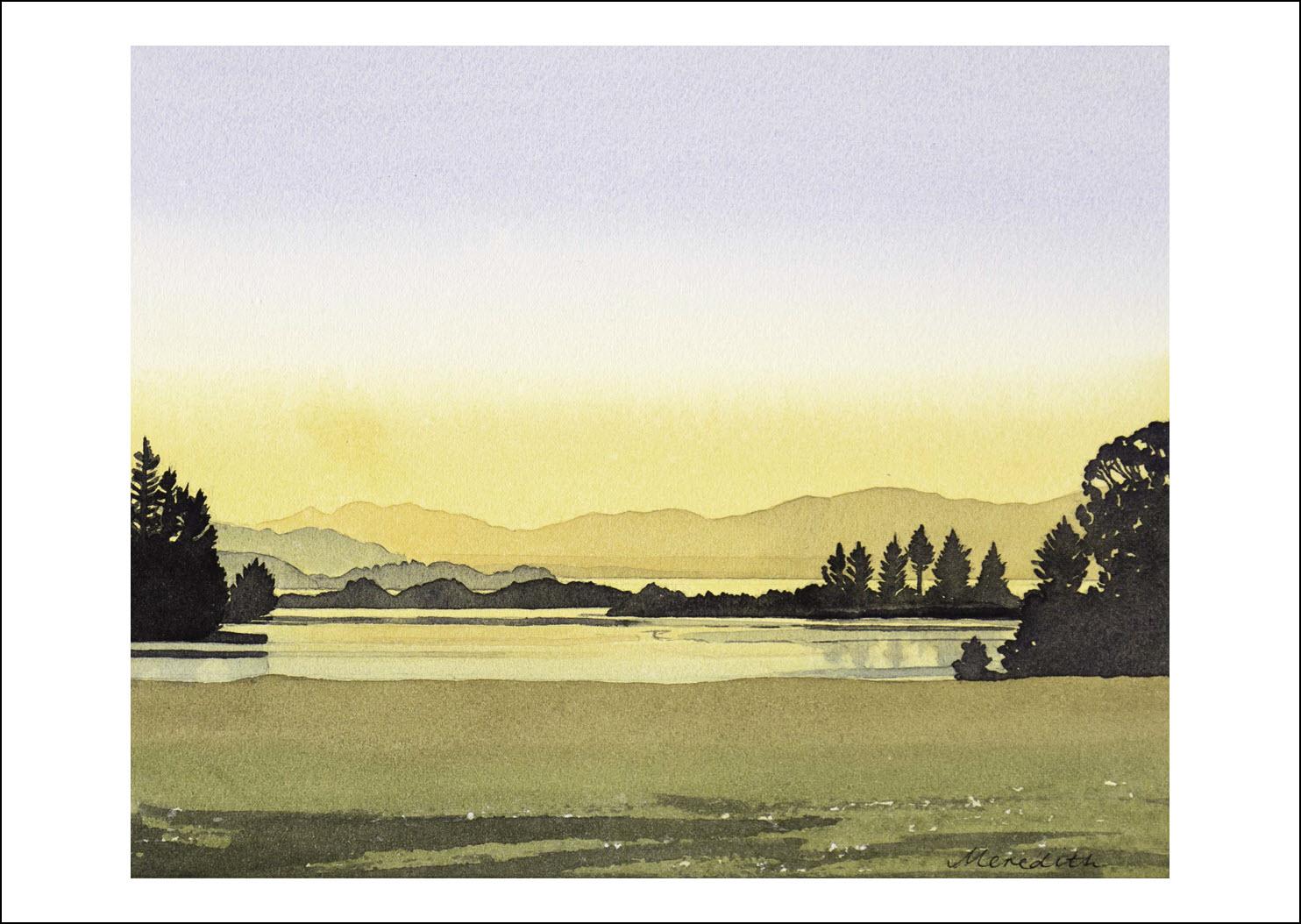 48. Golden Bay Sunset from Clifton