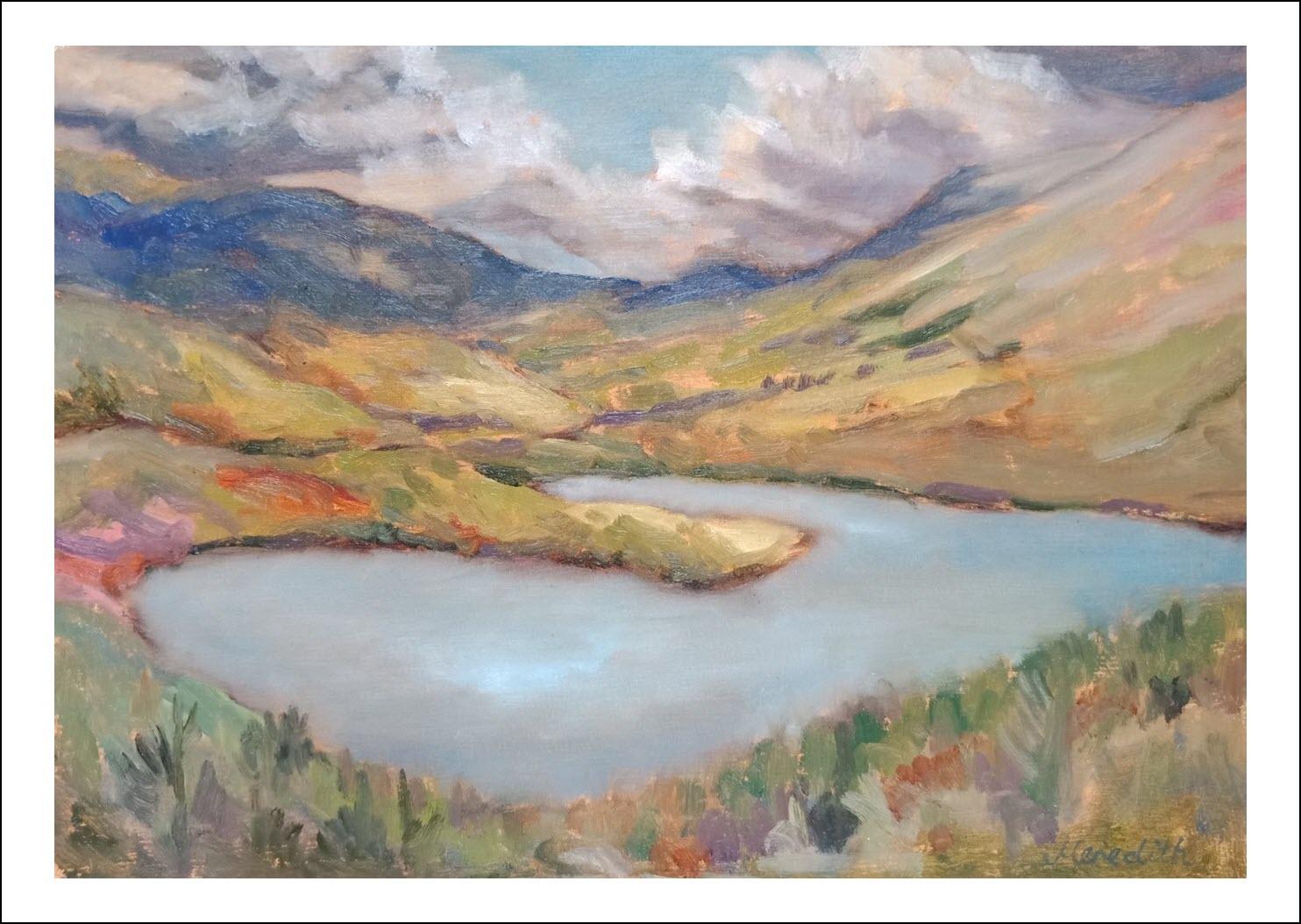 54. Lake Rotoiti from the Base of Mt. Robert