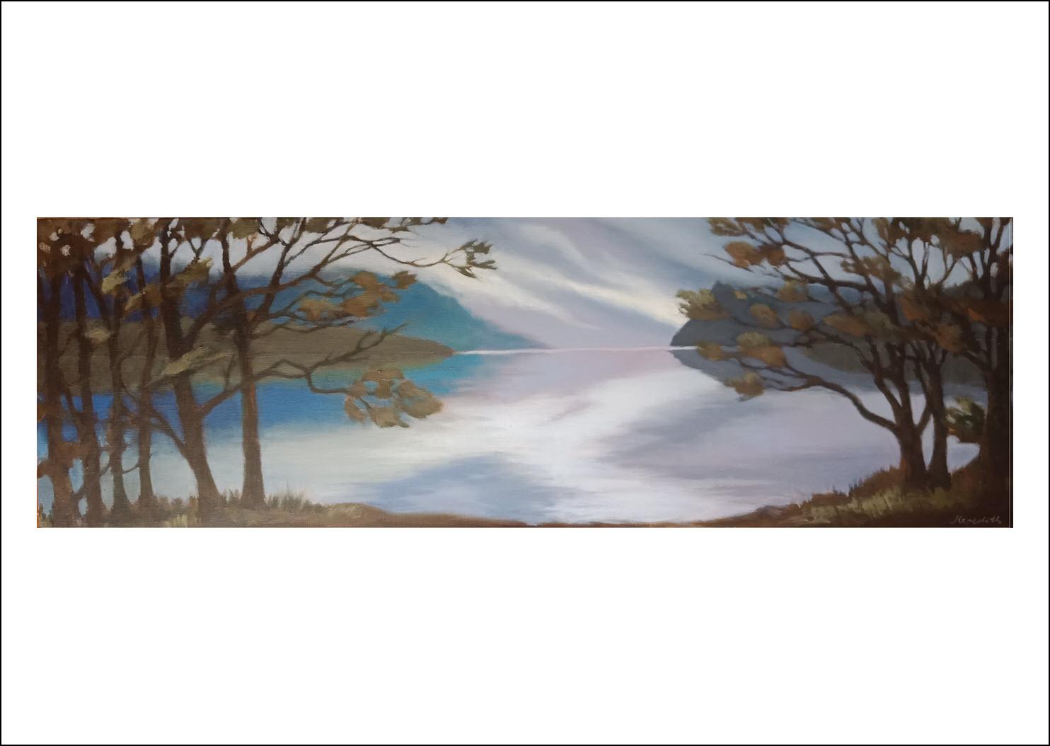 56. Lake Rotoiti Through Trees