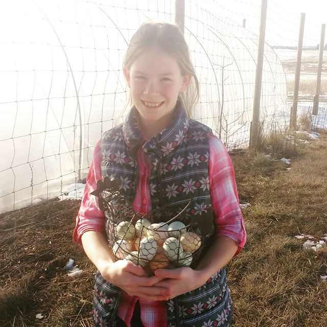 Meet Your Farmer - Halle is a sweetheart who at ten years old is helping collect and wash our pastured eggs every day. She has a servants heart and is known to slip a nice thank you note into our customers cartons once in a while because she is grateful to our customers.  #abundantfamilypastures #localfarm #regenerativefarming #connectwithyourfarmer #connectwithyourfood #spokanefarming #pasturefarming #knowyourfarmer #knowyourfood #spokanefood #pasturedeggs #localhens #commumityfarming #familyfarm #realfood #paleo