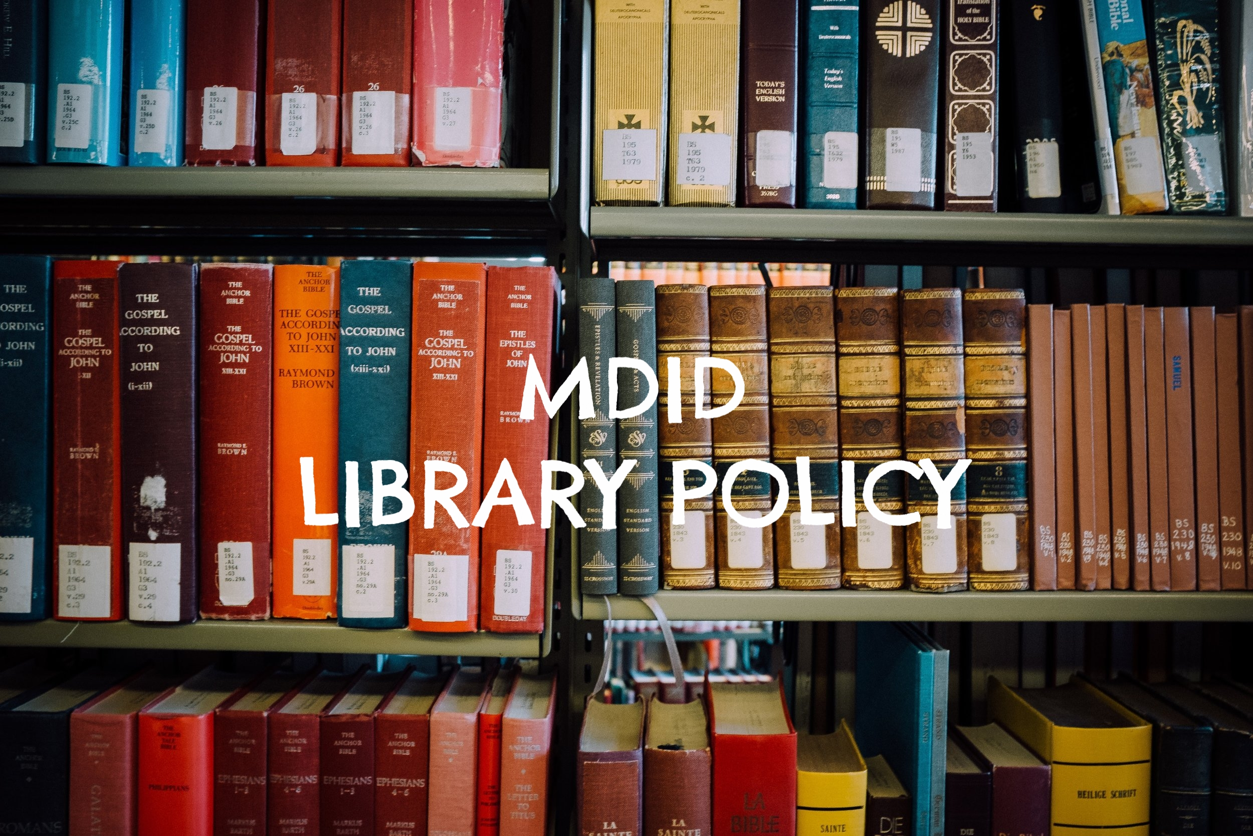 Library Policy