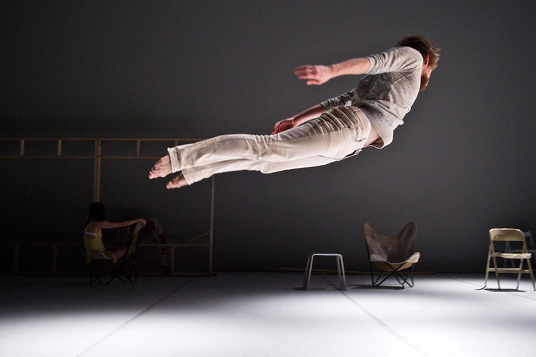 Photo: Erik Berg  Choreography:  Praeambulum  by Ingun Bjørnsgaard Prosjekt Dansens Hus Norway 2013