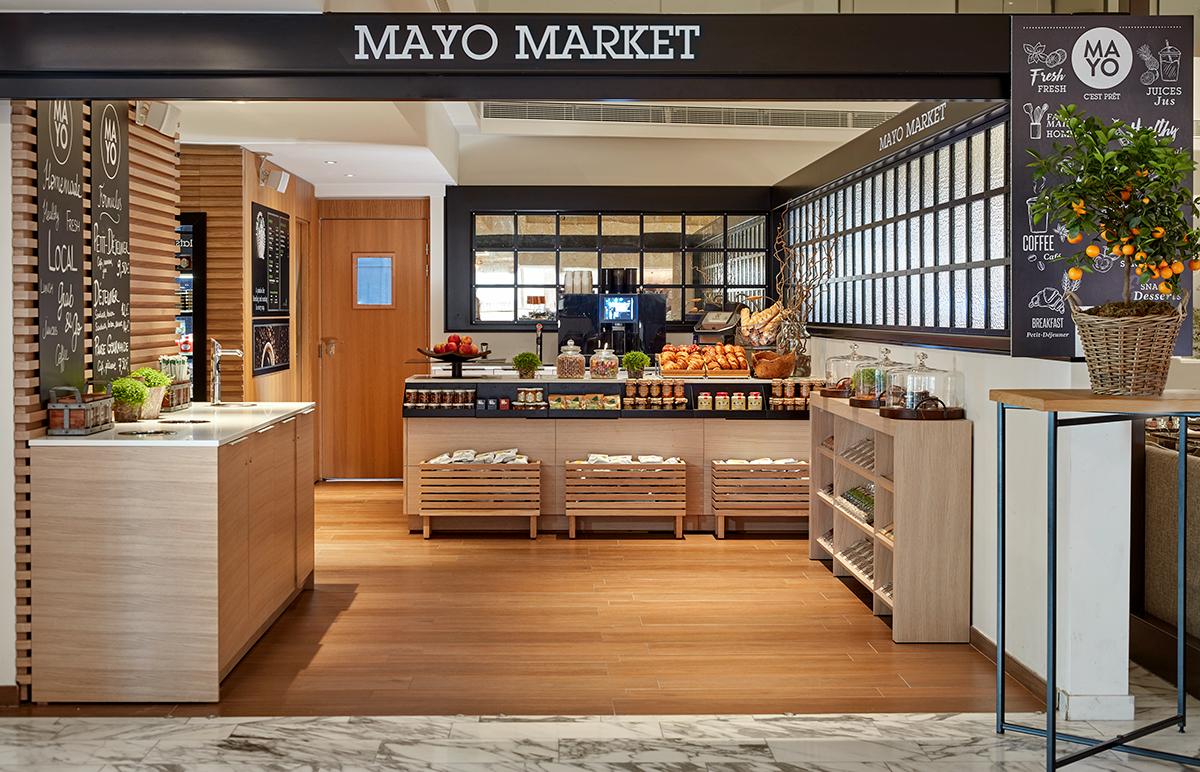 Take Away dishes Mayo Market Paris 17