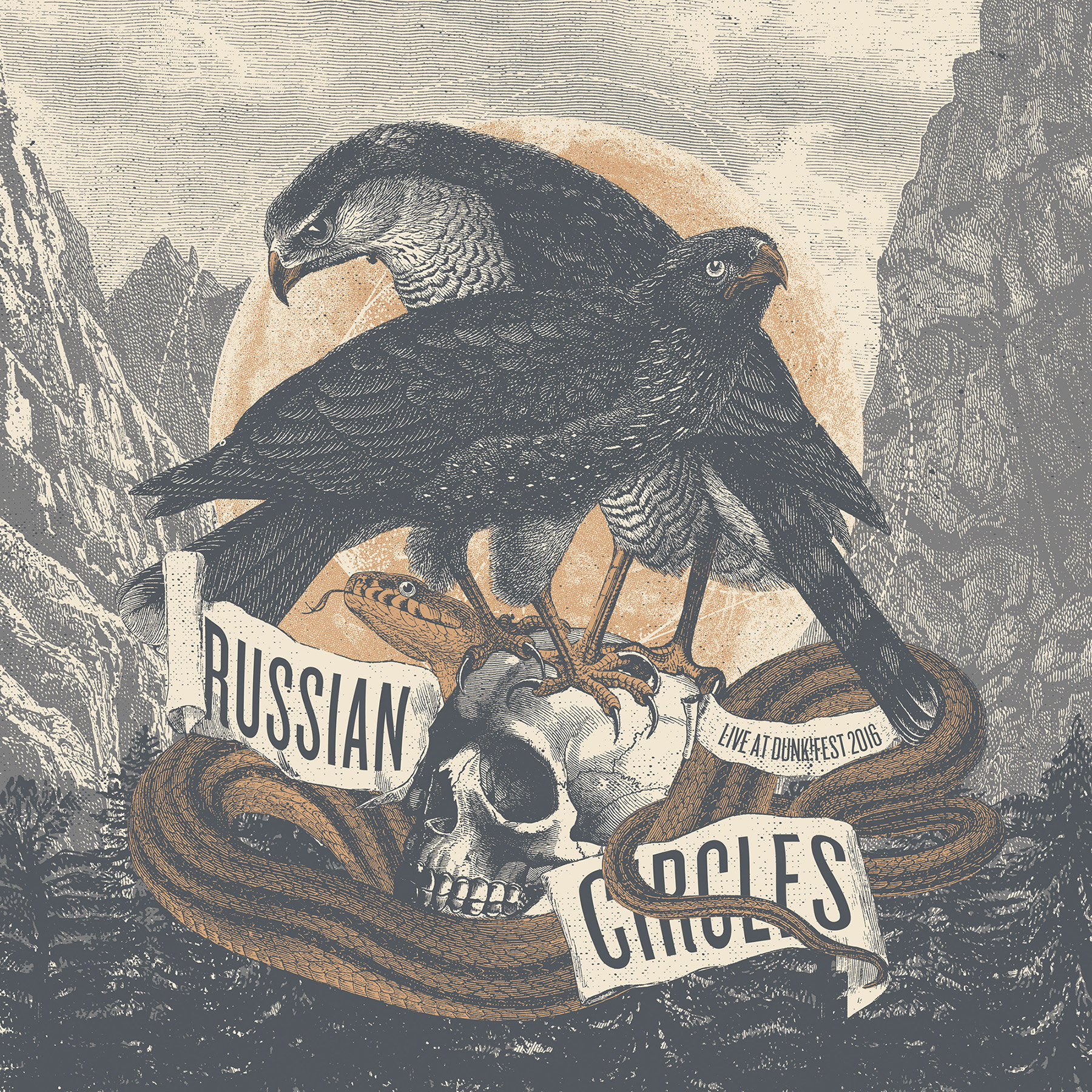 Russian Circles - 'Live at dunk!fest 2016' [2xLP]